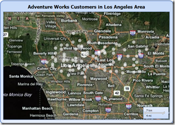 Adv Works Cust LA Map