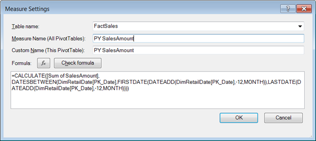 Calculating Previous Year Marketing Calendar Values with DAX