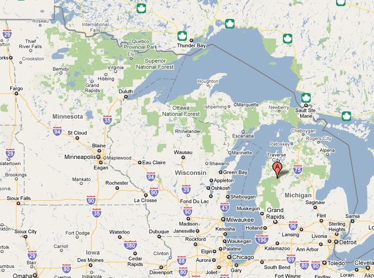 SSRS R2 Map  What Happened To Michigan  Dan English39s