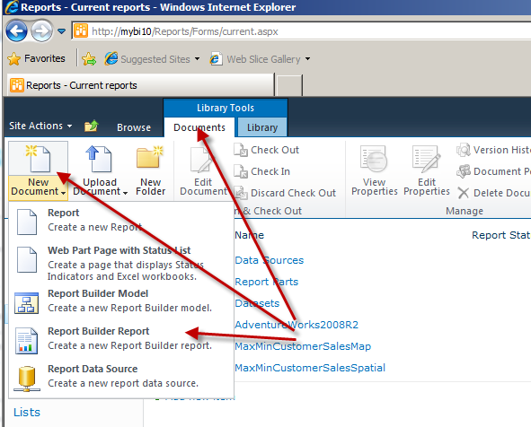 Using Reporting Services Report (SSRS) with PerformancePoint