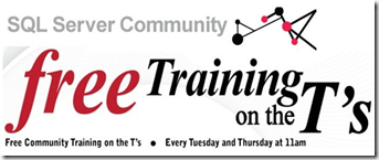 Free Training on the T's