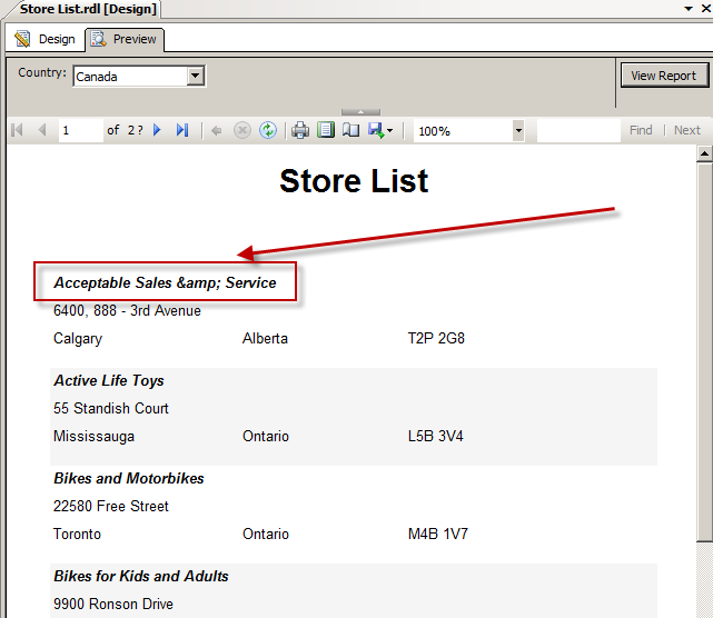 Using SharePoint List data for Reporting Services (SSRS