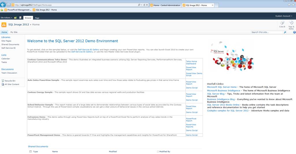Figura 2: Download do SQL Server 2012 Command Line Utilities