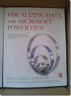 Just got my #powerview book http://www.mhprofessional.com/product.php?isbn=0071780823 #msbi #SharePoint #sqlserver