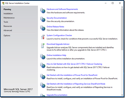download sql server 2016 reporting services (ssrs) in native mode